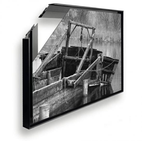 Caisse américaine aluminium noir, anodisé et couleurs au choix RAL